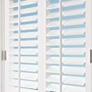 Traditional Tilt Bar PolySatin® Shutters